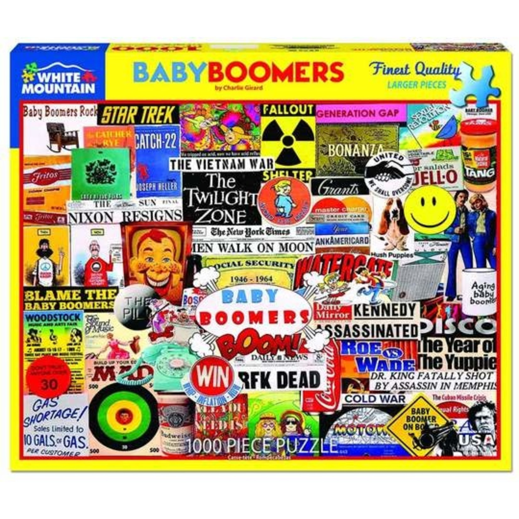BABY BOOMERS PUZZLE