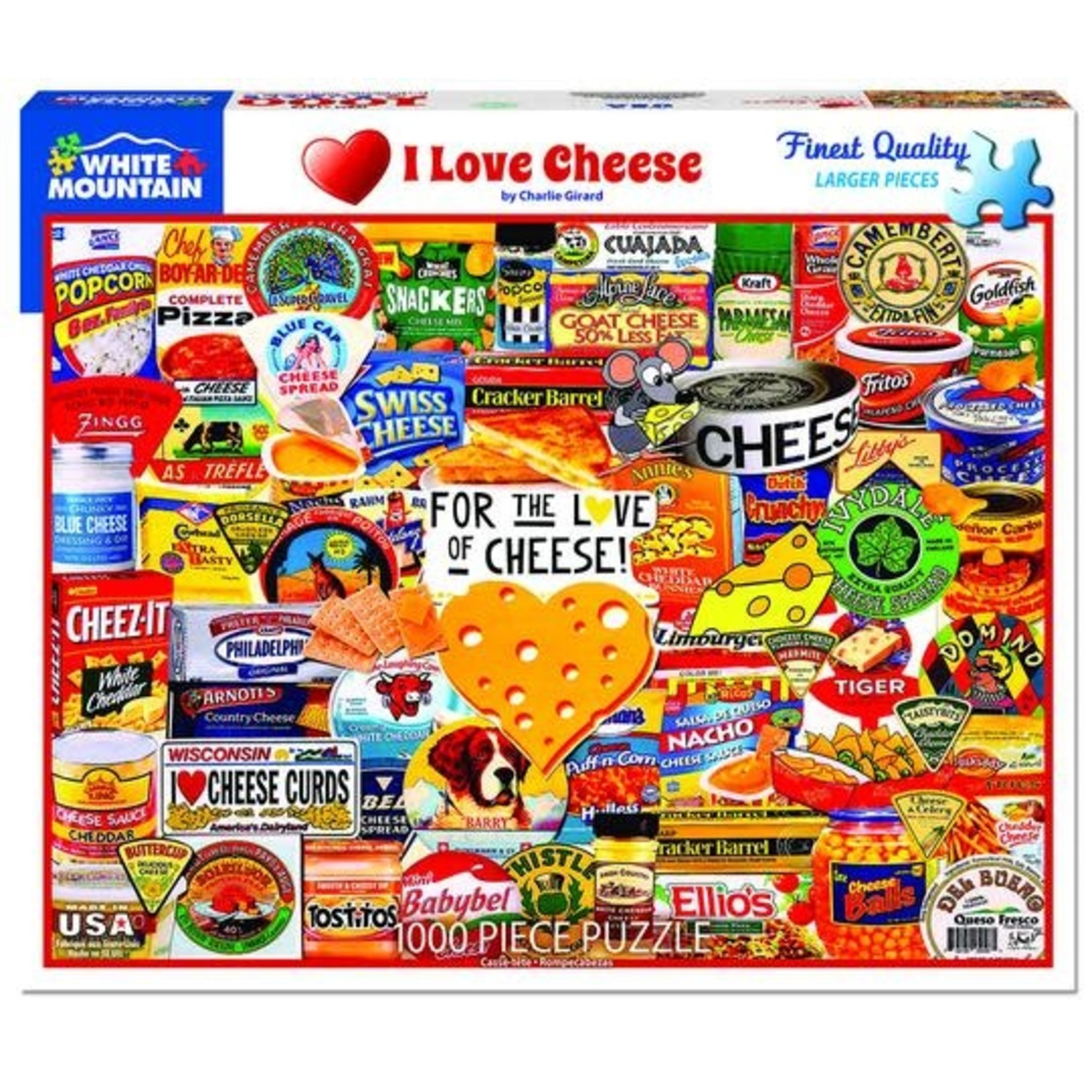 PUZZLE, I LOVE CHEESE