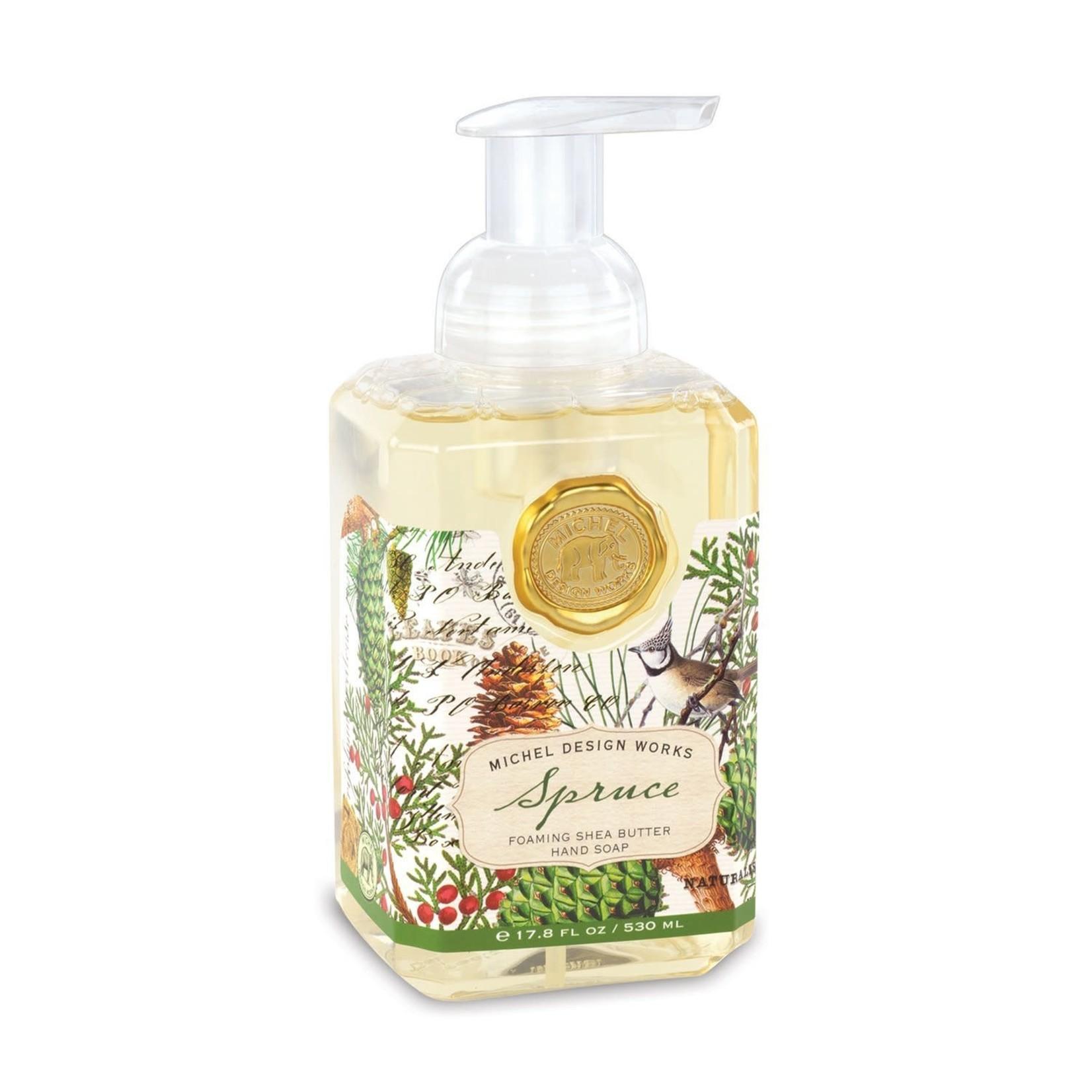 Michel Designs SPRUCE FOAMING SOAP