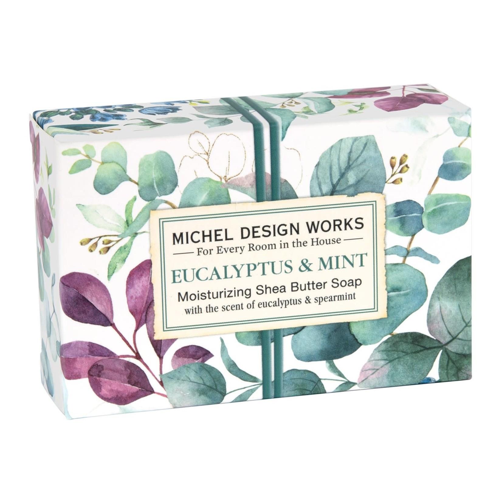 Michel Designs EUCALYPTUS & MINT BOXED SOAP