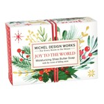 Michel Designs JOY TO THE WORLD BOXED SOAP