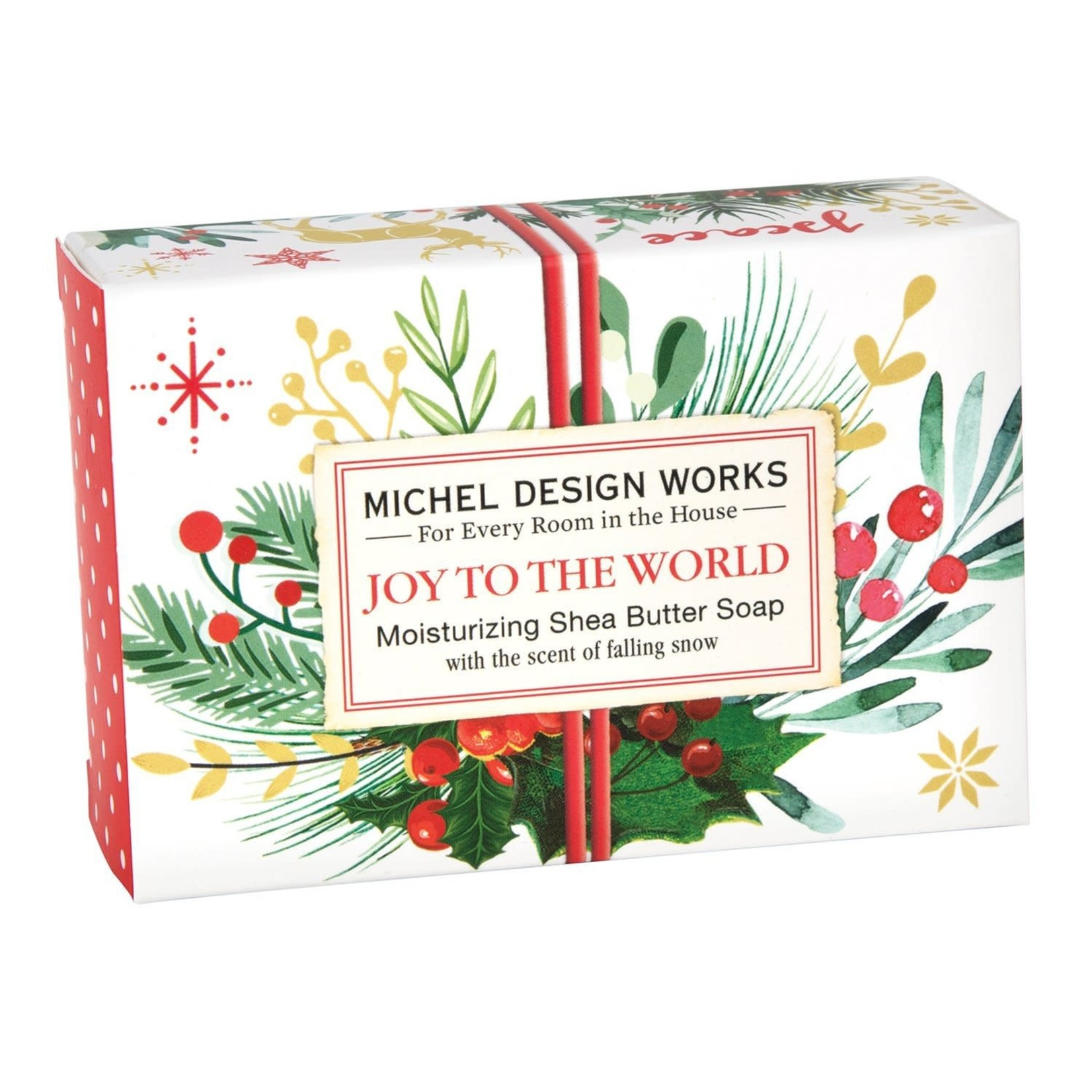 Michel Designs # JOY TO THE WORLD BOXED SOAP