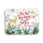Michel Designs JOY TO THE WORLD COOKIE TRAY