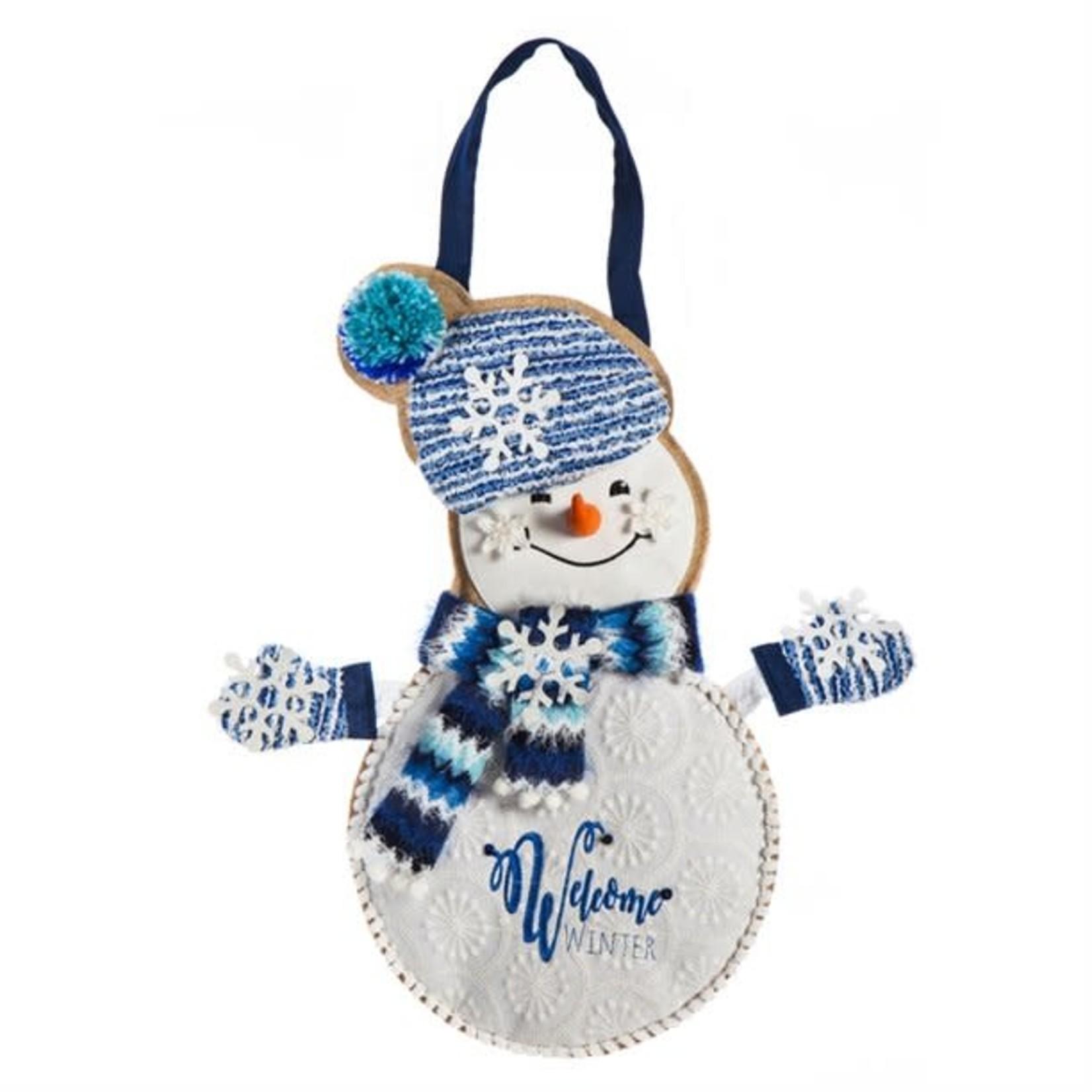 # DOOR DECOR WINTER SNOWMAN