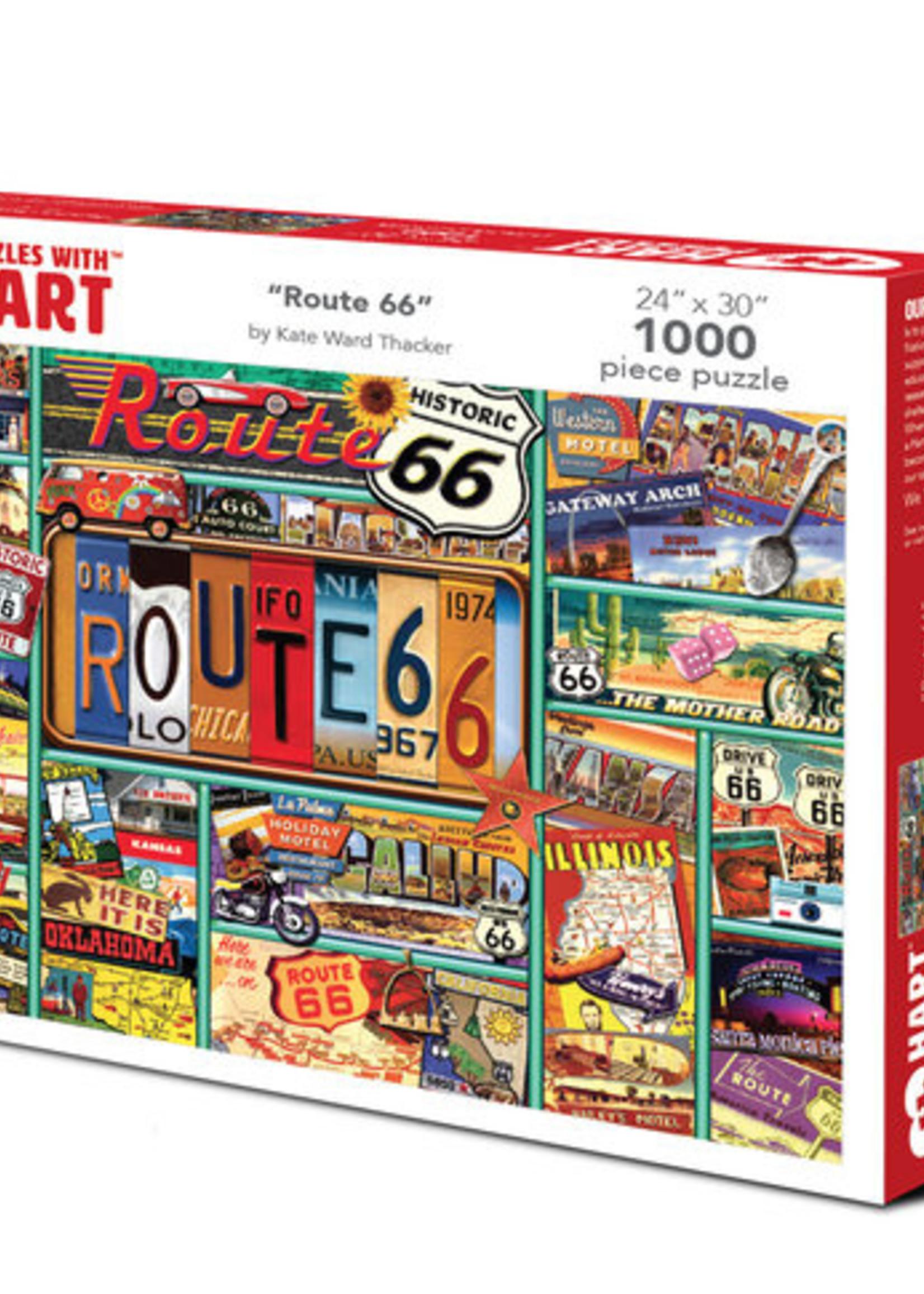 Hart Puzzles Route 66 Puzzle