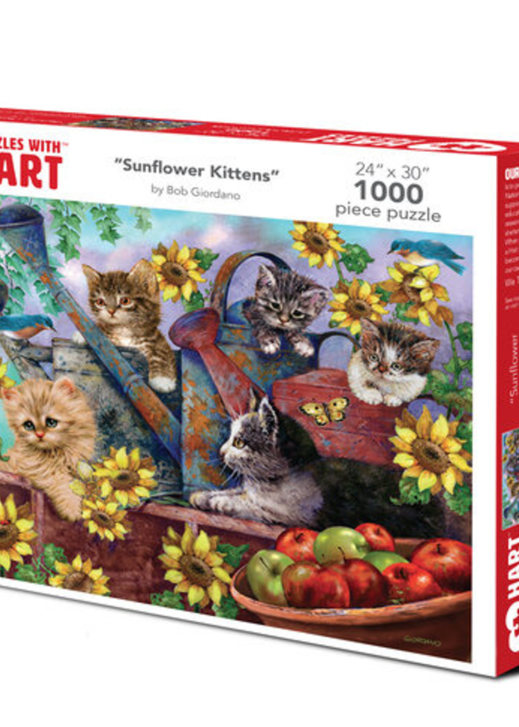 Hart Puzzles Sunflower Kittens