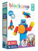 Blockaroo Magnetic Foam Blocks - Small Robot