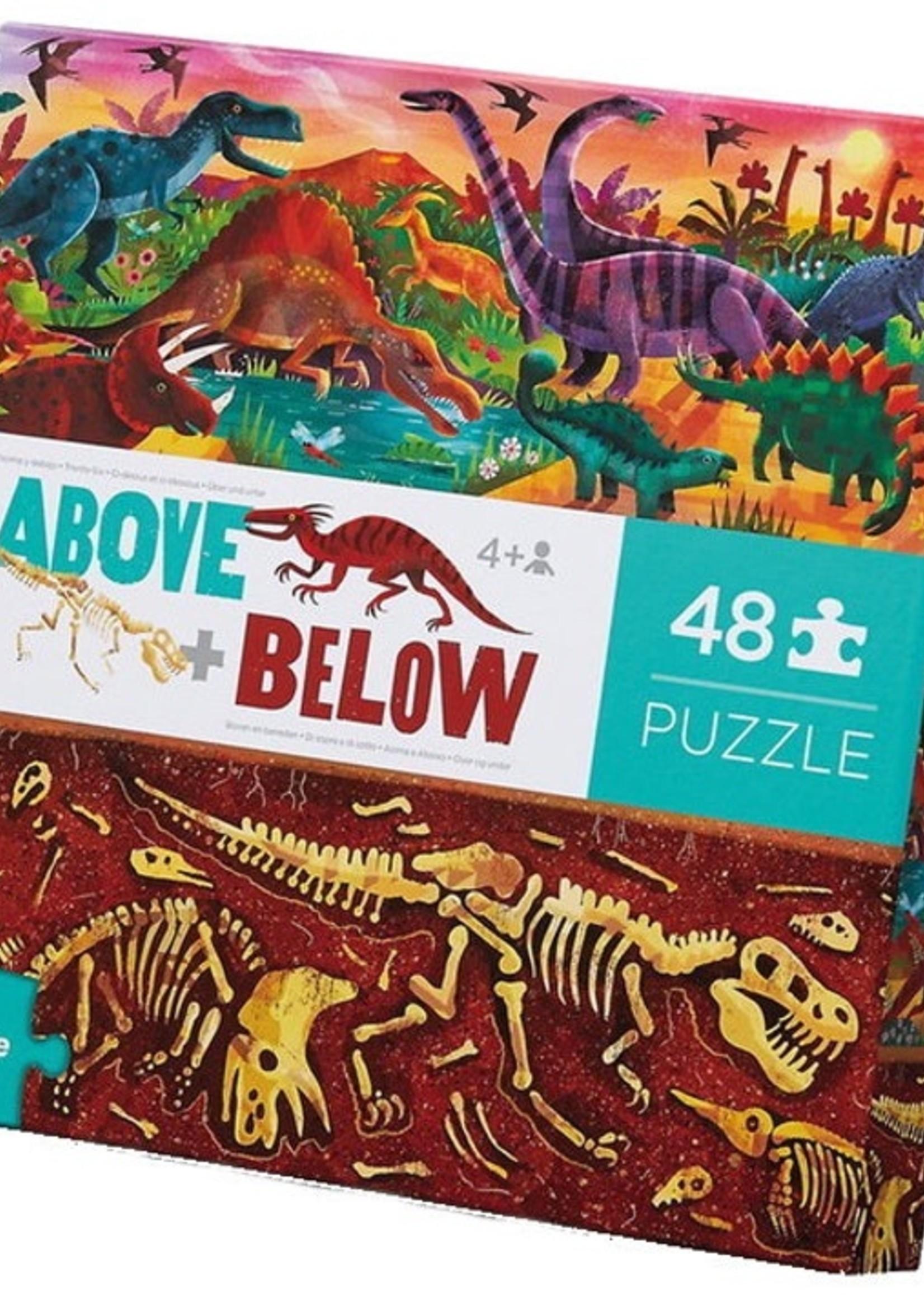 Crocodile Creek Above & Below 48pc puzzle