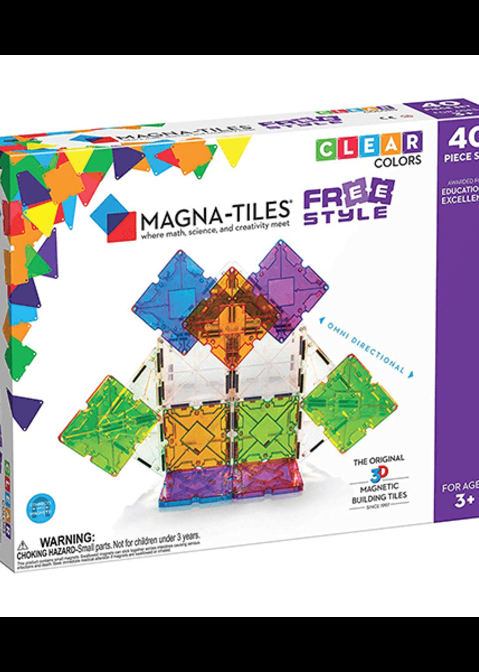Magna Tiles Magnatile Free Style 40 piece