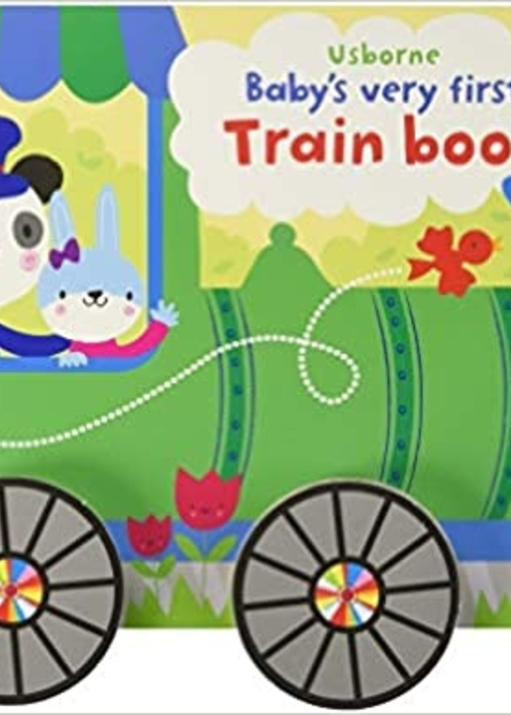Baby First Train Book
