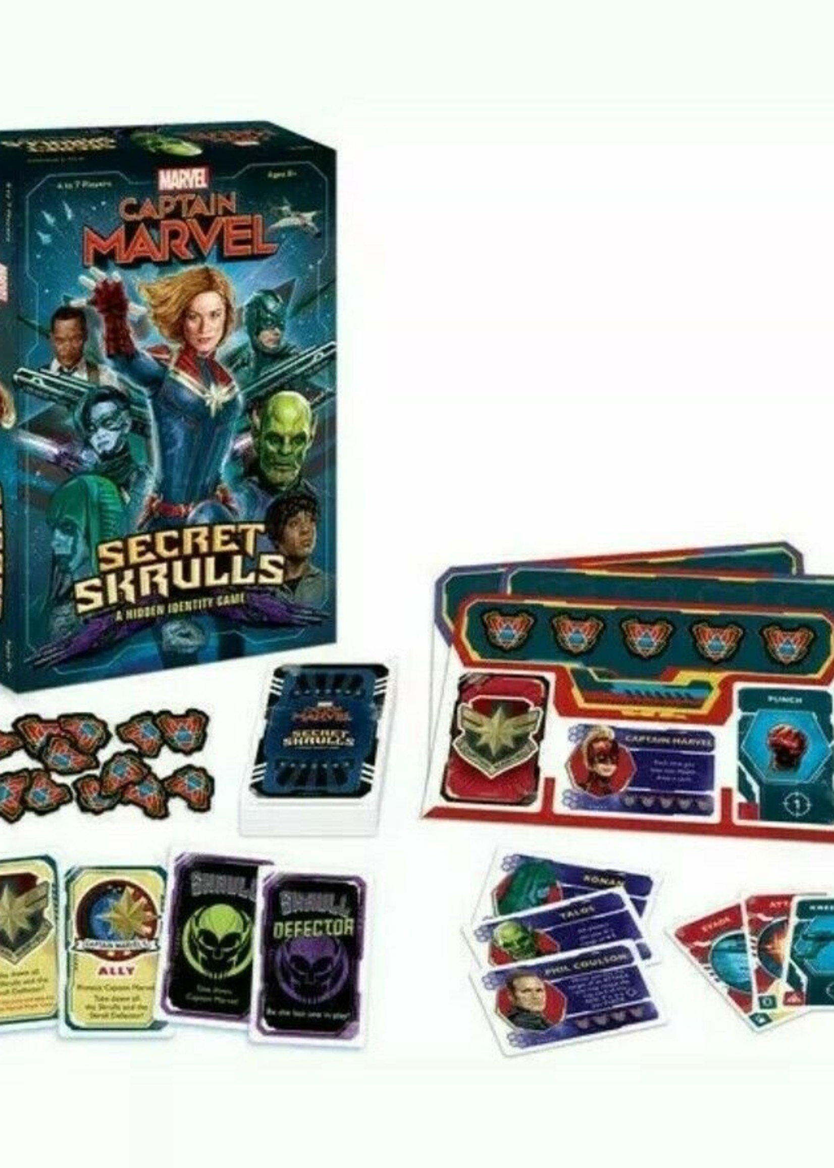 Captain Marvel Secret Skrulls
