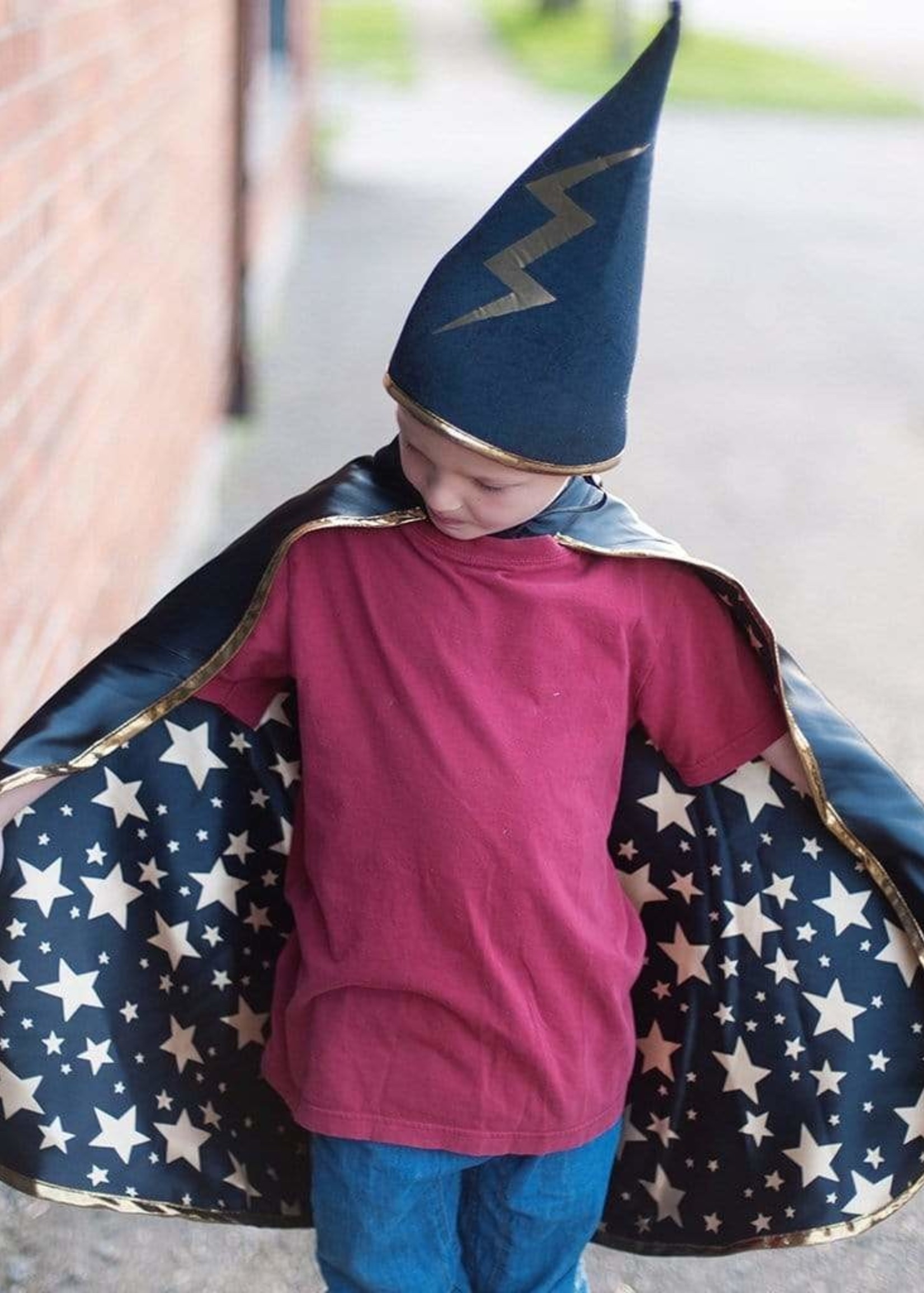 Reversible Wizard Cape