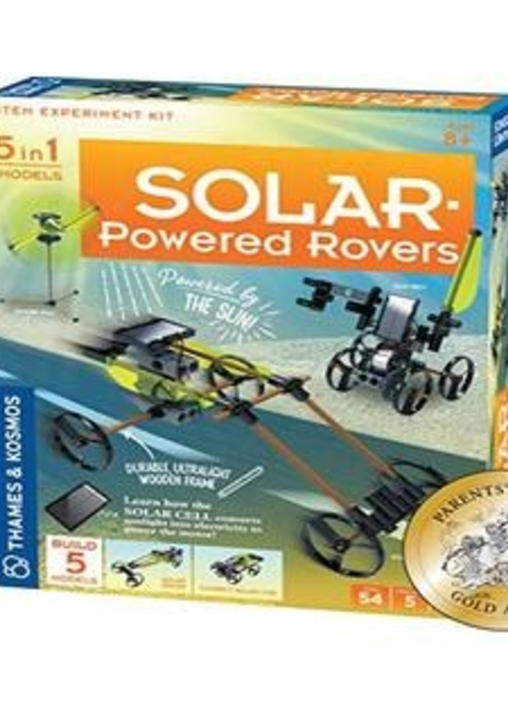 Solar Powered Rover
