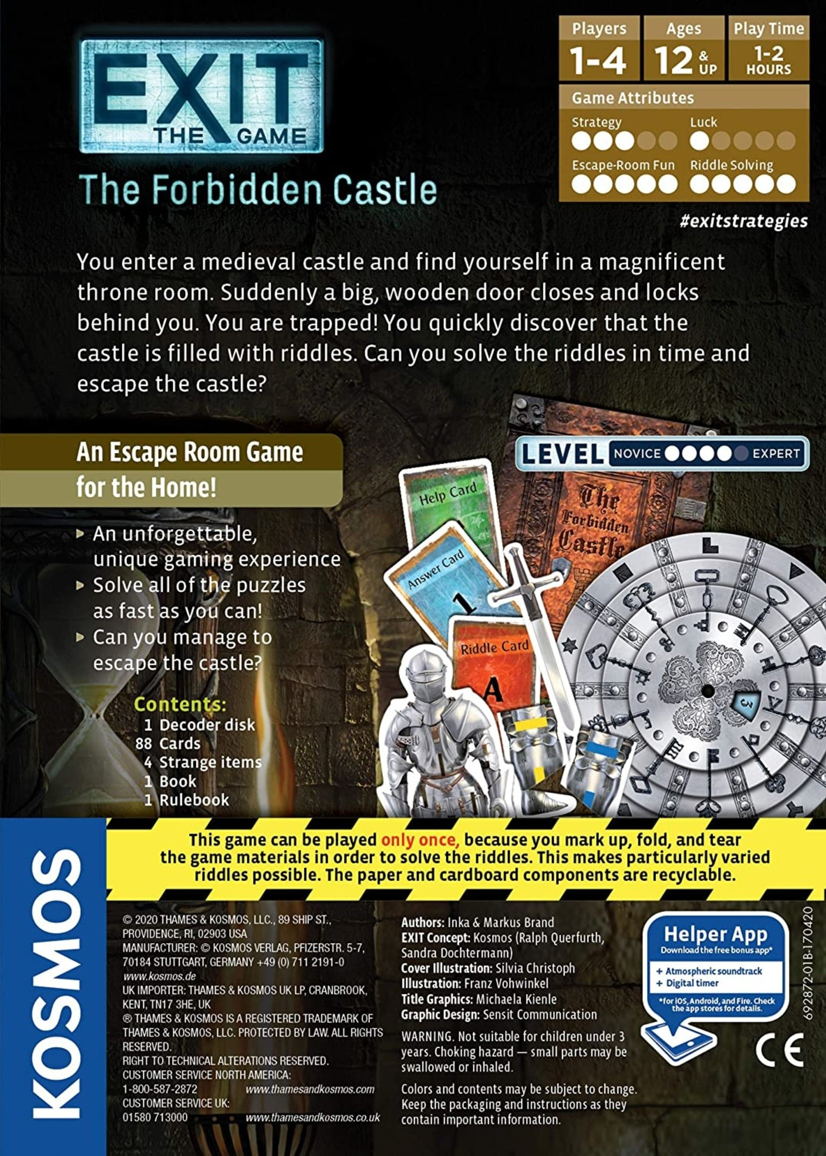 Exit The Game The Forbidden Castle