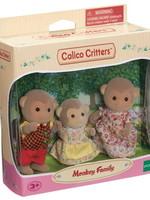 Calico Critters Mango Monkey Family