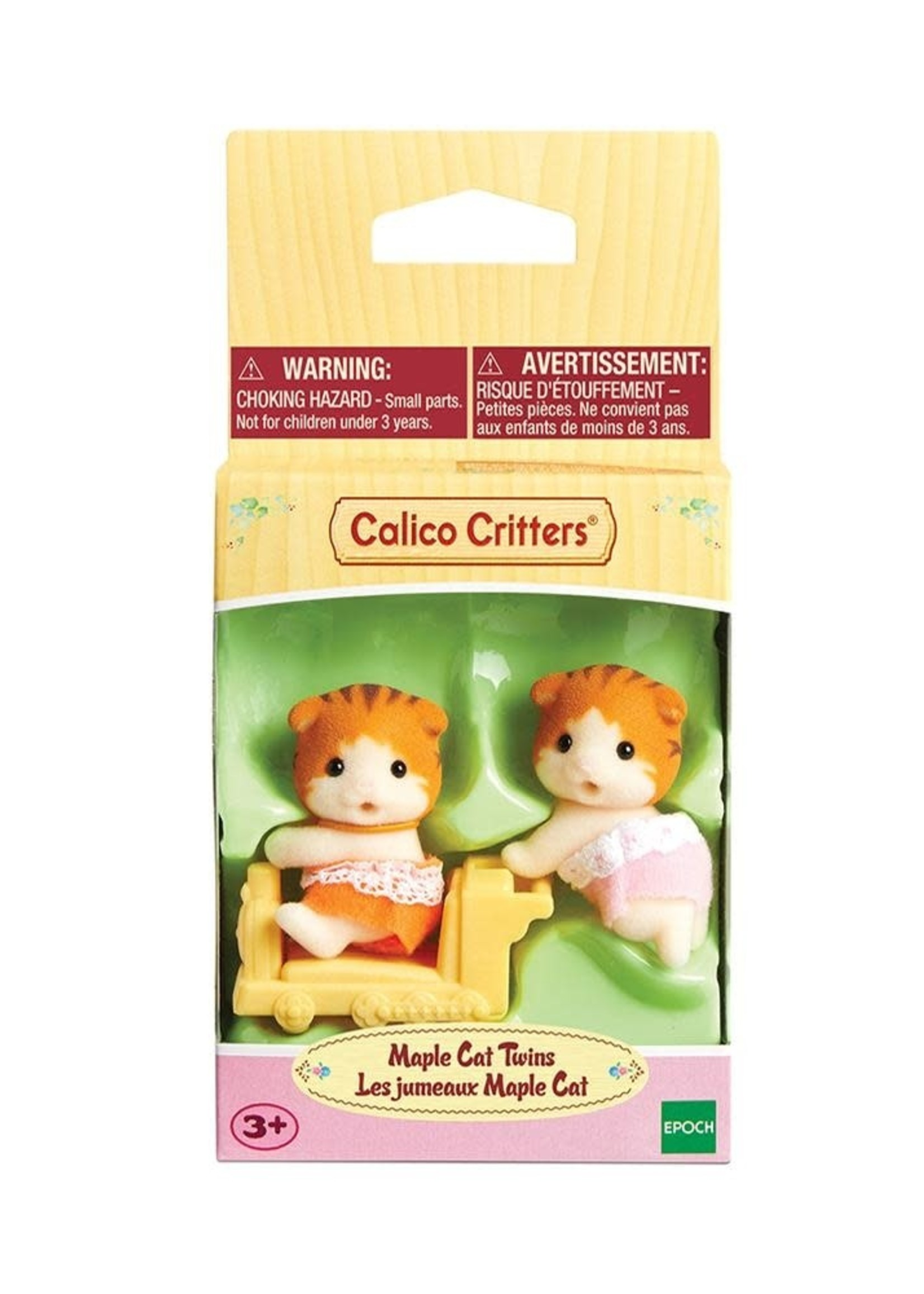 Calico Critters Maple Cat Twins