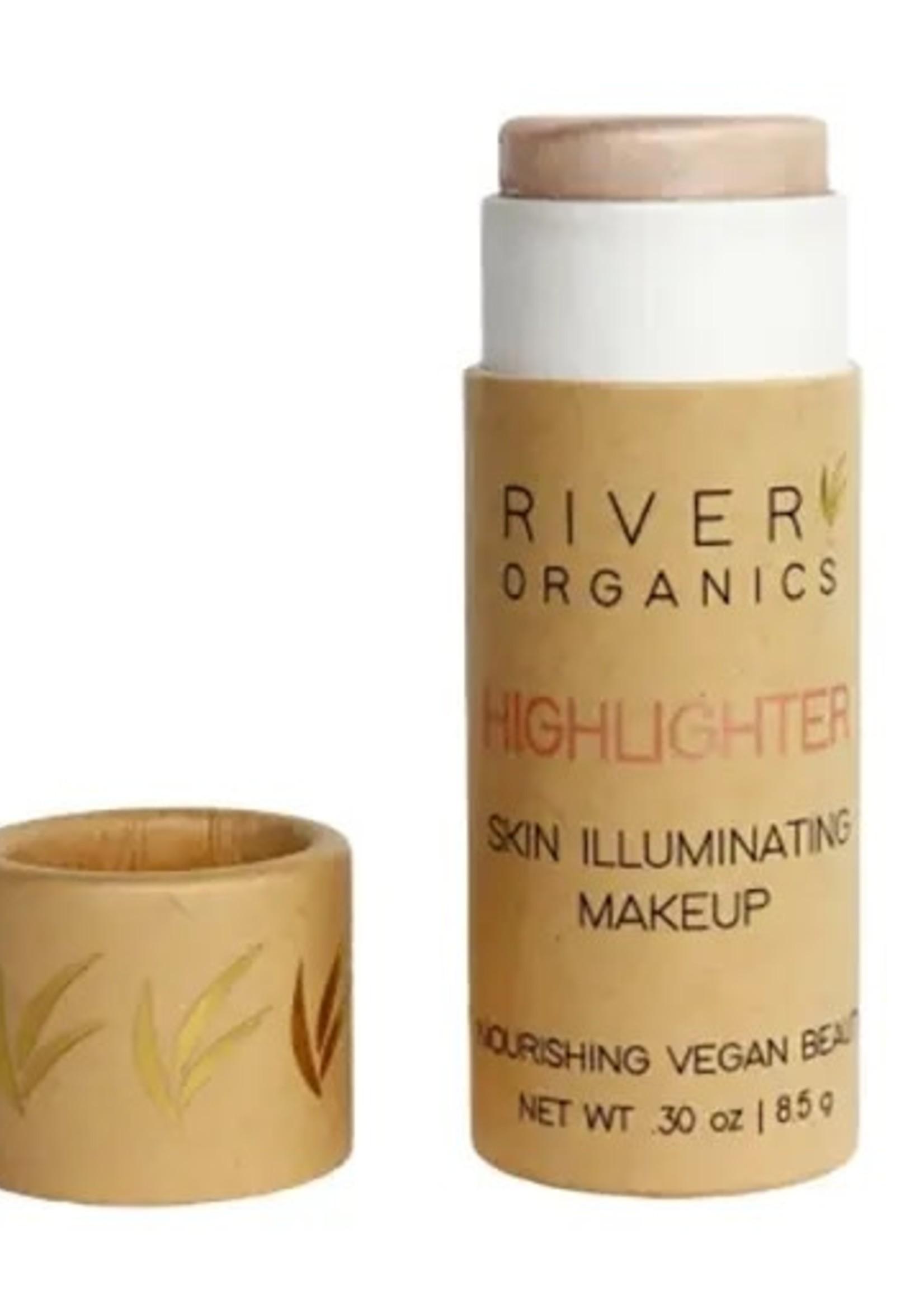 River Organics Rose Quartz Highlighter