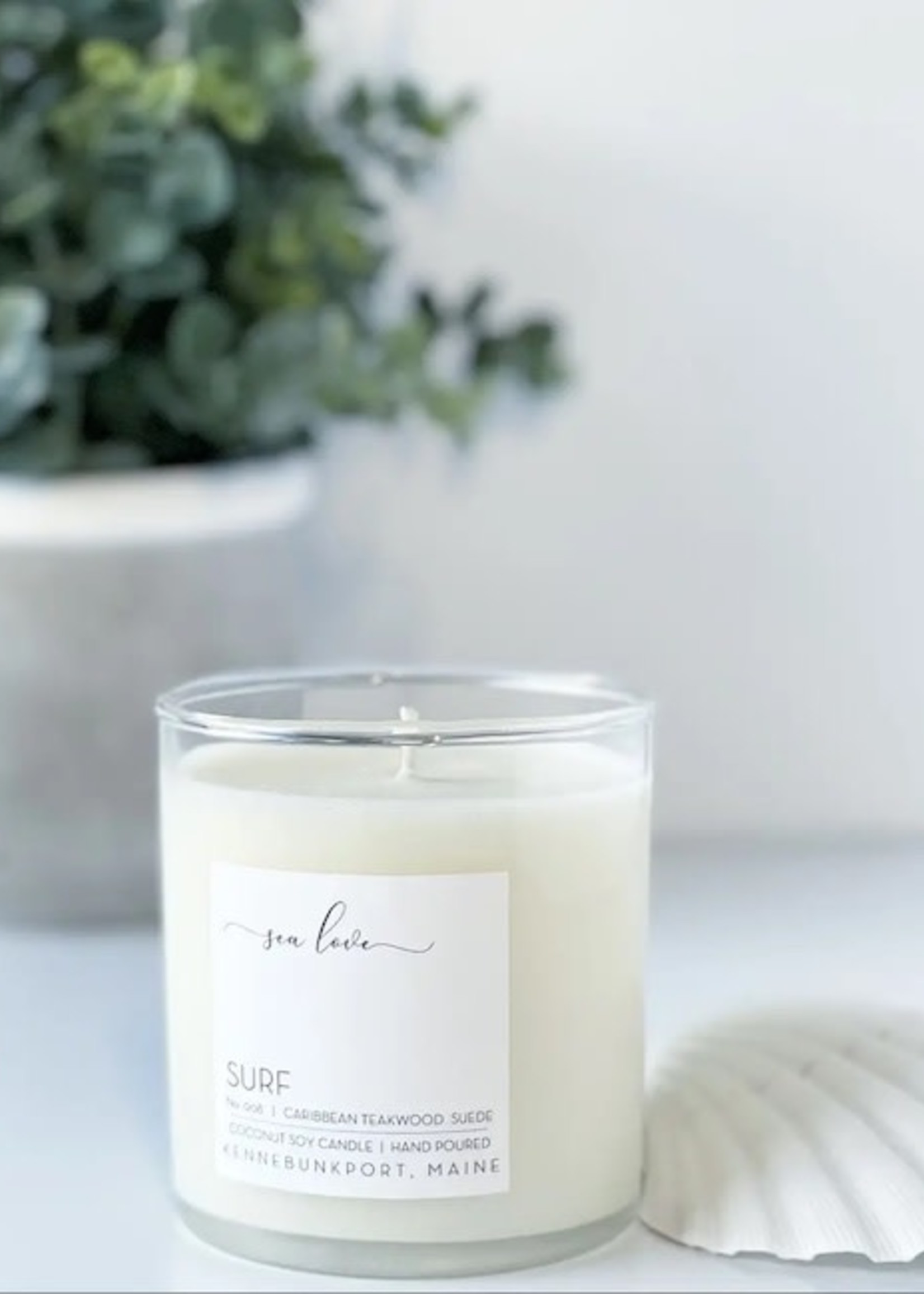 Sea Love Candles Surf Candle