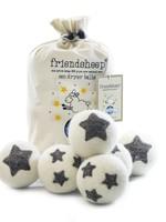 Friendsheep Stars Galore Set of 6 Eco Dryer Balls
