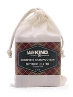 KIND Soap Co Mankind Tea Tree Shower/Shampoo Bar
