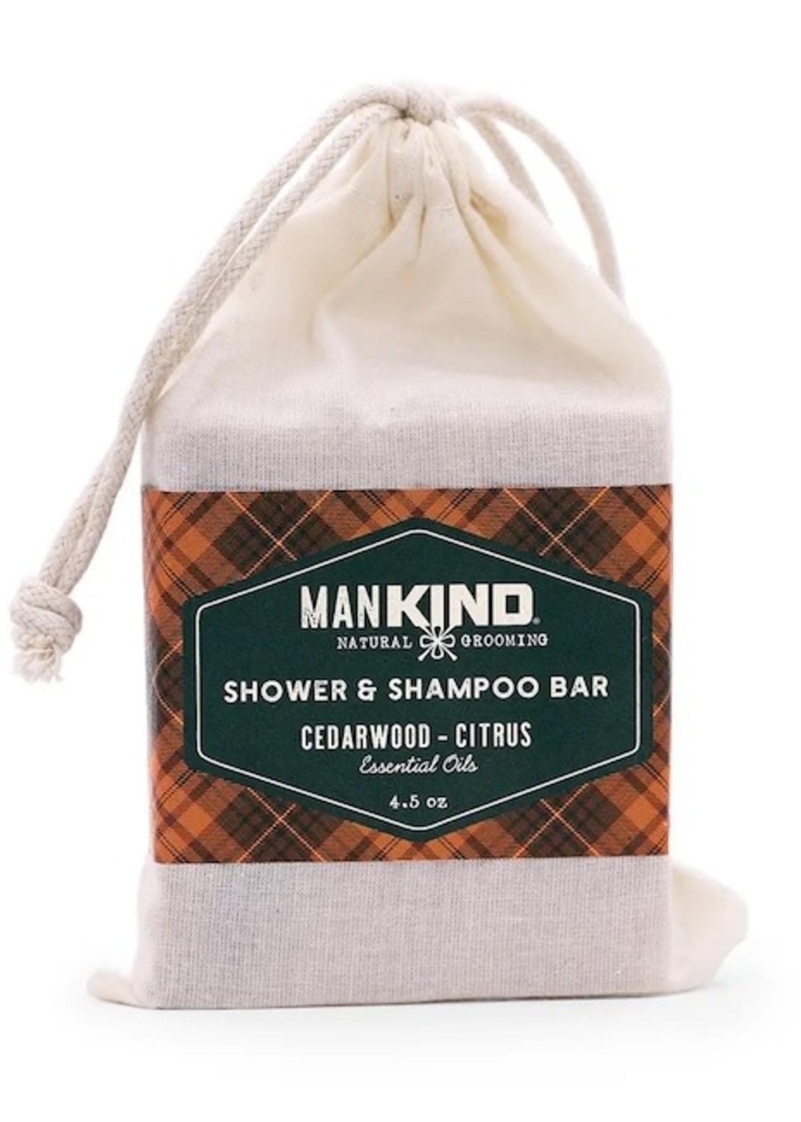 KIND Soap Co Mankind Cedarwood Shampoo/Shower Bar
