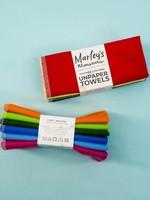 Marleys Monsters 6-Pack Rainbow Solid Unpaper Towels