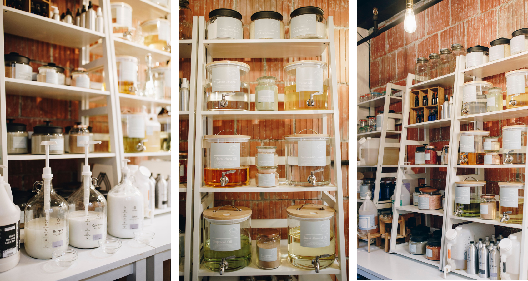 Refillable items at Reno eco-friendly shop and refillery