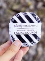Marleys Monsters Medium Black Facial Rounds