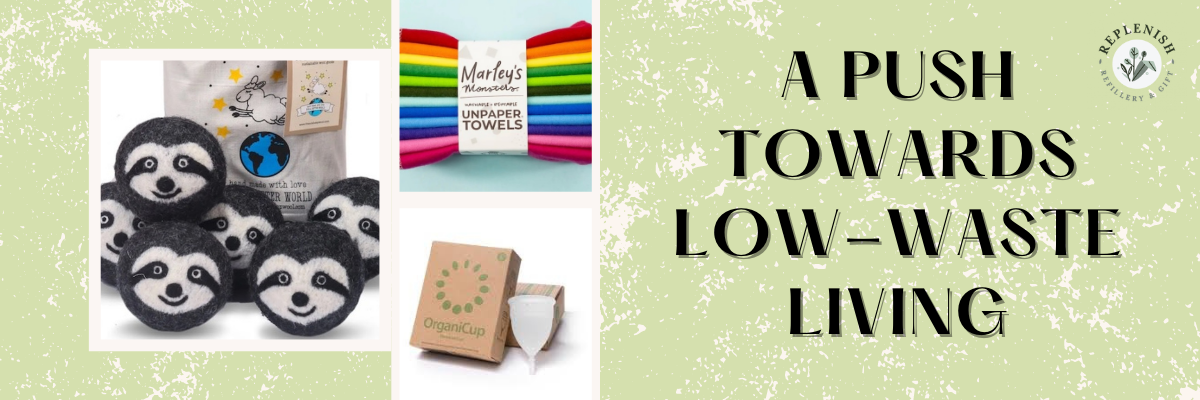 Unpaper Towels, OrganiCup and Dryer Balls - Three items that will help you live a Zero Waste Life