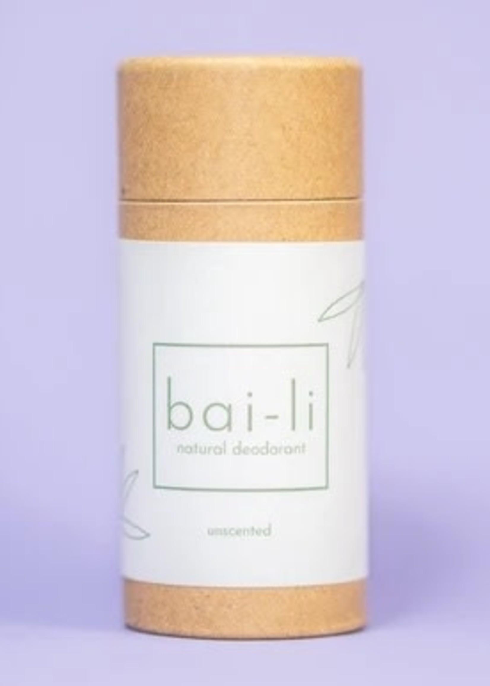 Bai-li Unscented Deodorant