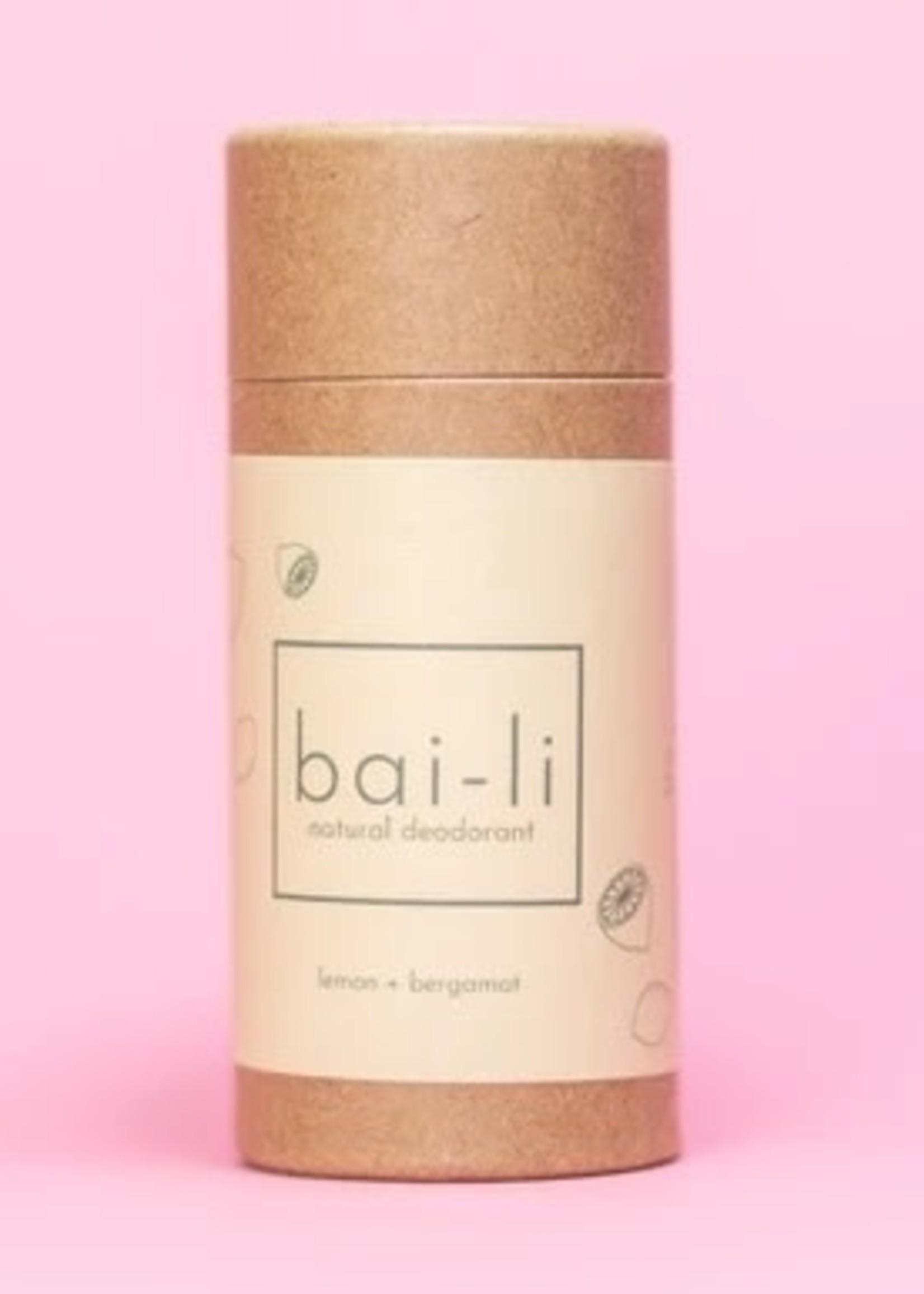 Bai-li Lemon Bergamot Deodorant