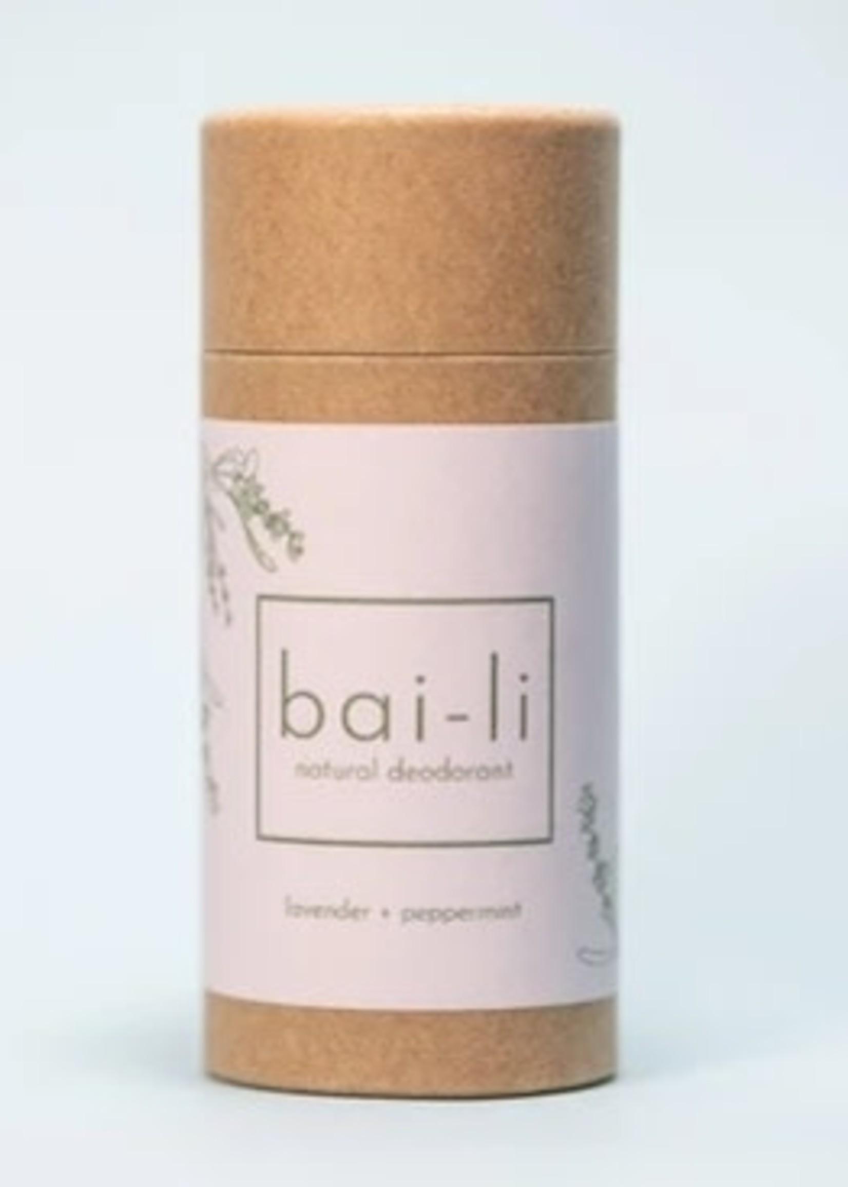 Bai-li Lavender Peppermint Deodorant