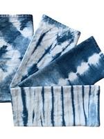 Fiber & Mud Shibori Cloth Napkins