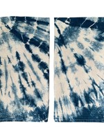 Fiber & Mud Indigo Dyed Burst Towel