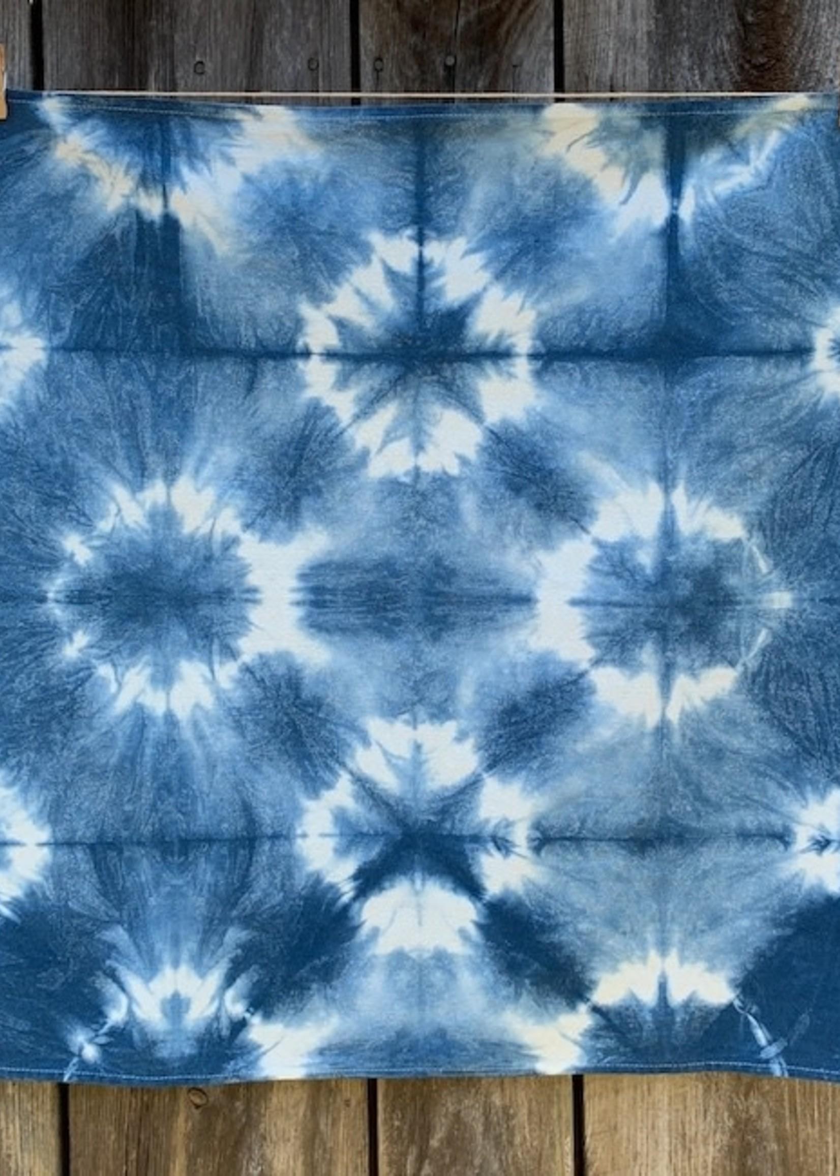 Fiber & Mud Indigo Dyes Dark Stars Towel