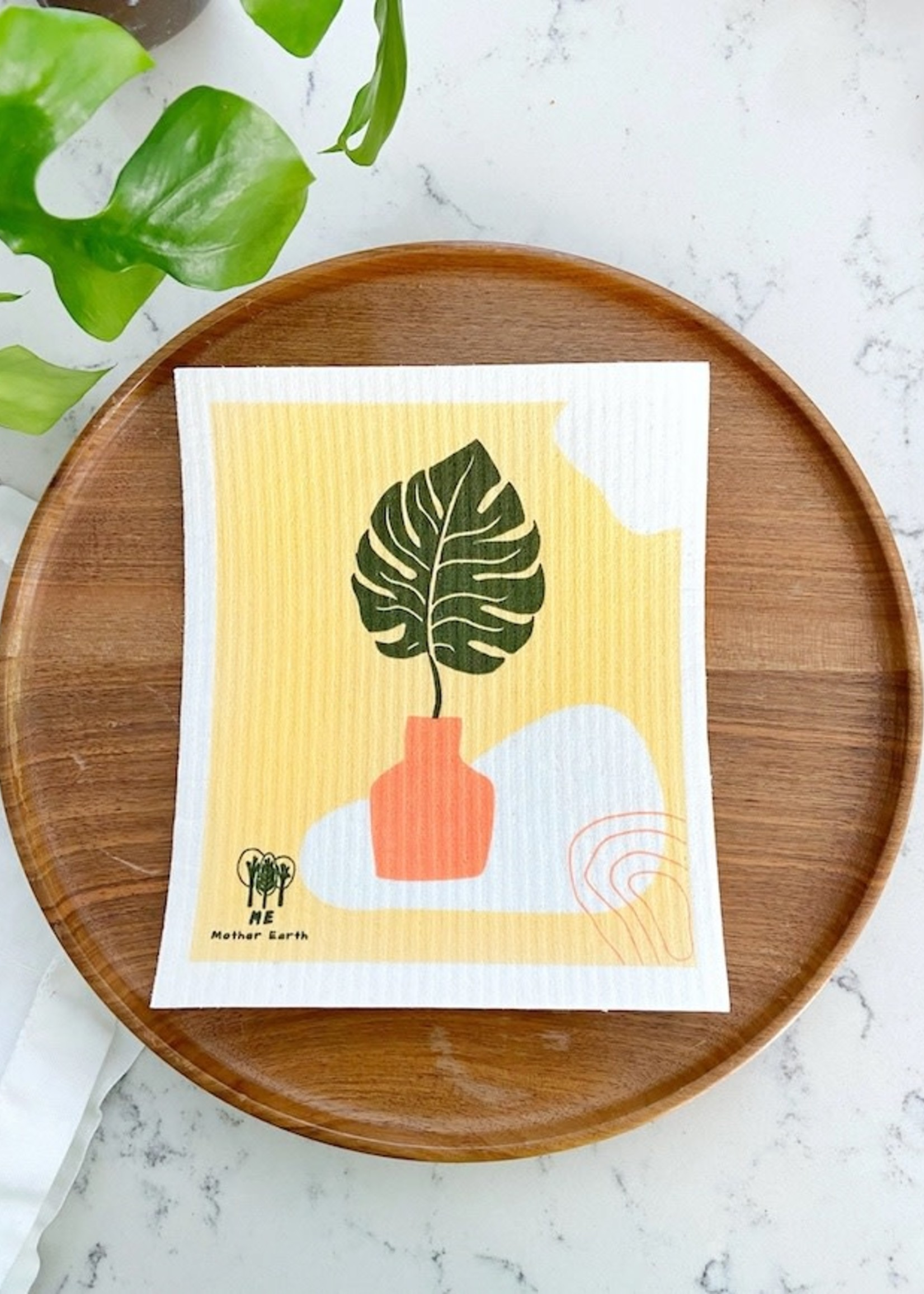 Me.Mother Earth Swedish Dish Cloths: 3-pack