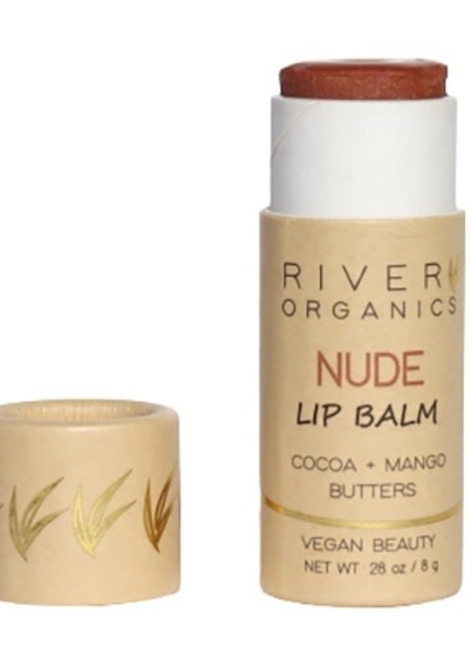 River Organics Nude Vegan Lip Balm