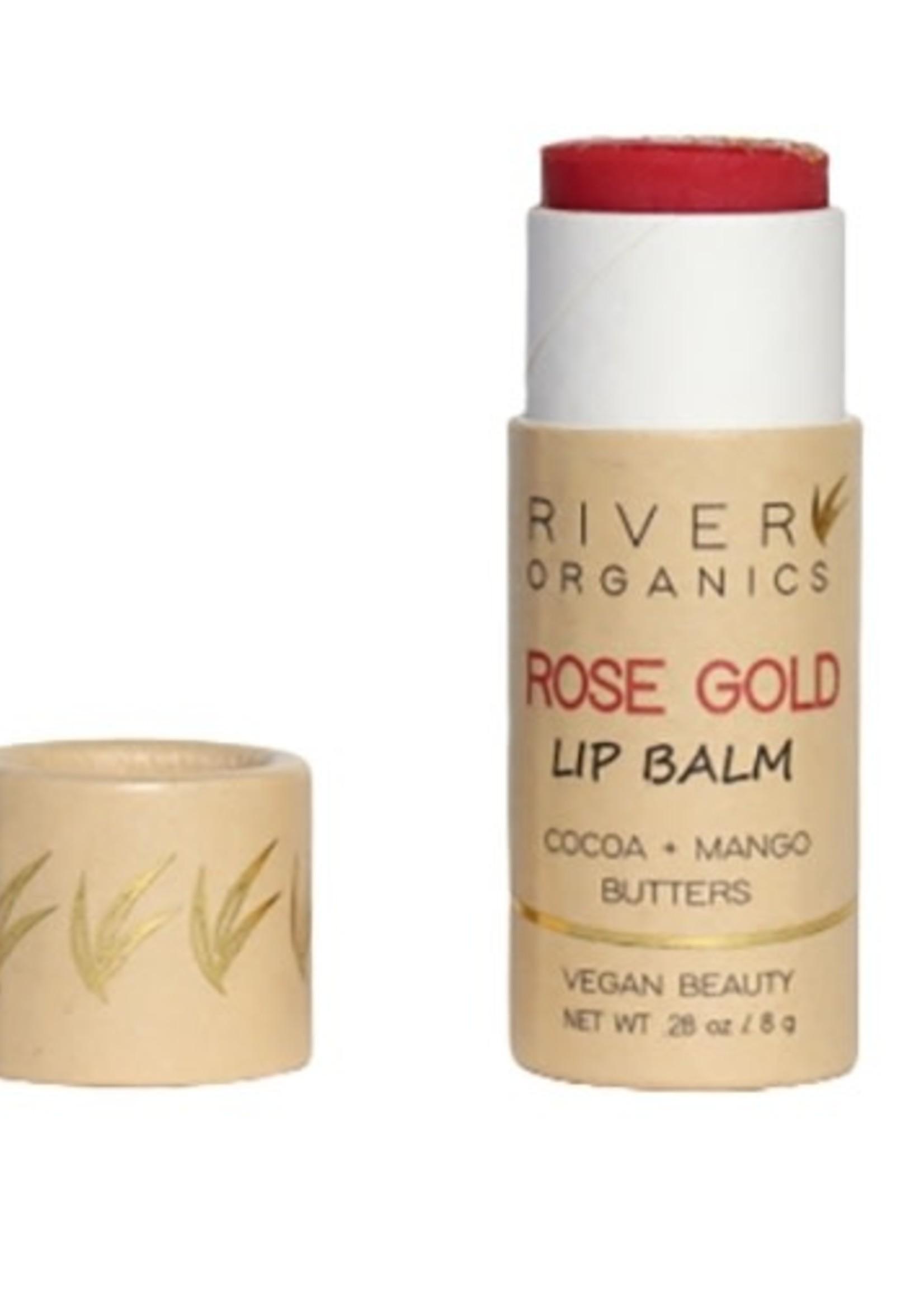 River Organics Rose Gold Lip Balm
