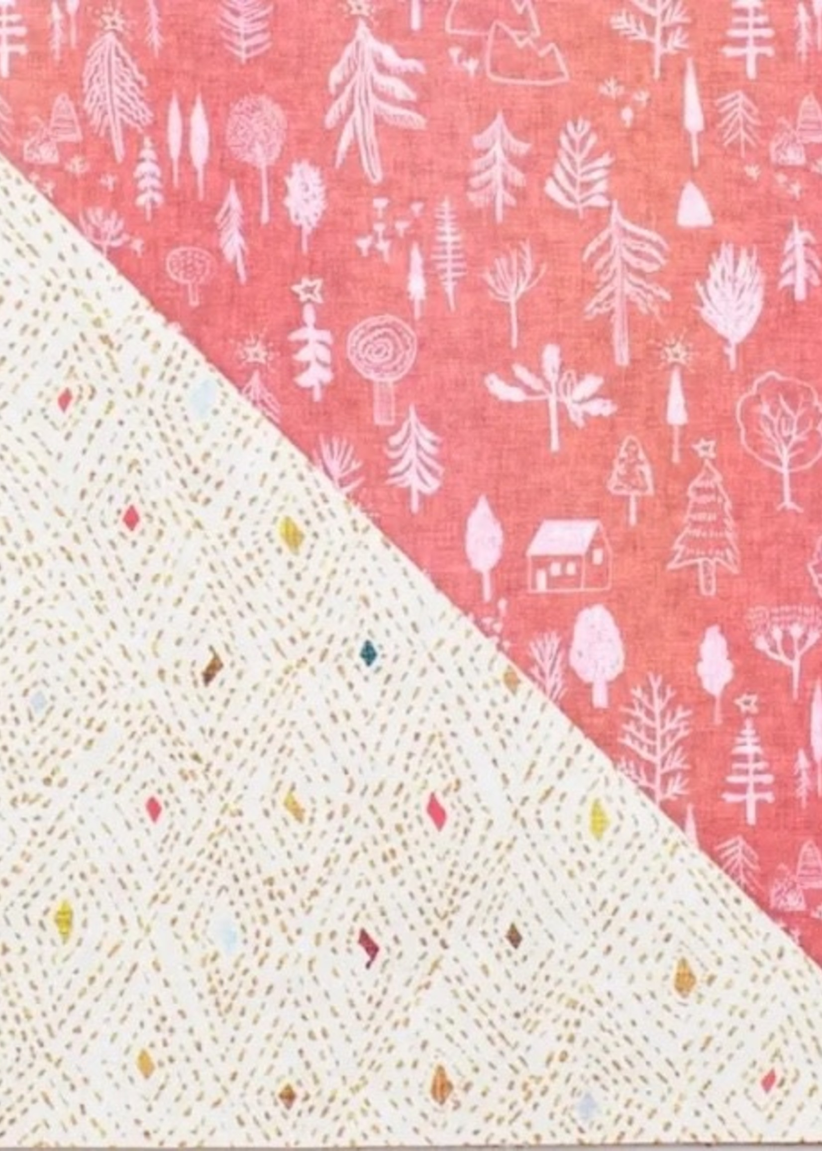 Wrappily Cozy Cabins Wrapping Paper