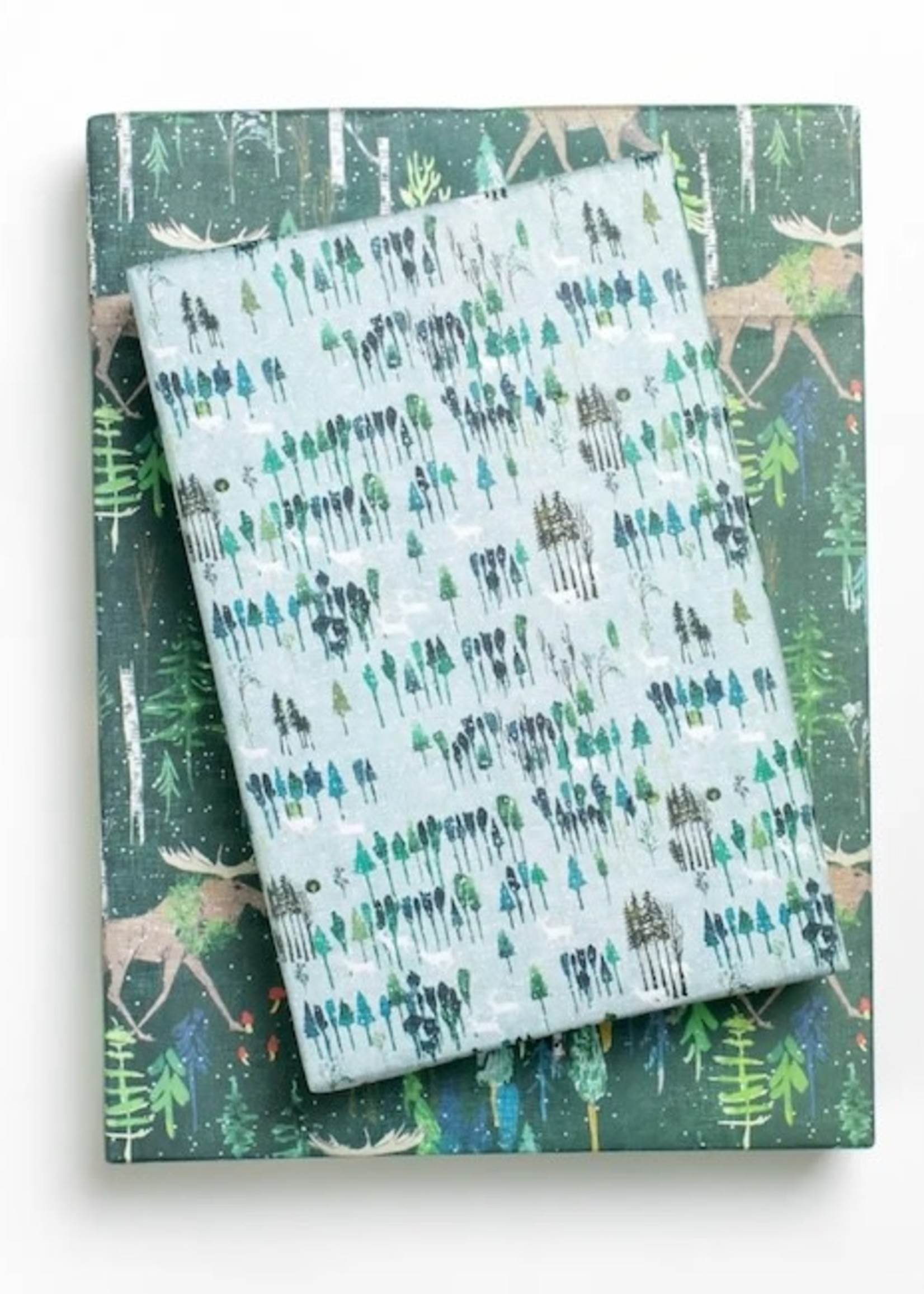 Wrappily Noel Forest Wrapping Paper