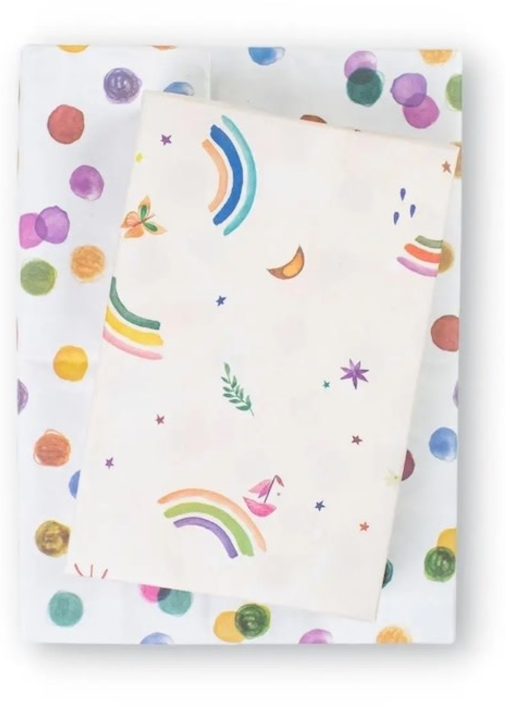 Wrappily Rainbow Sails Wrapping Paper