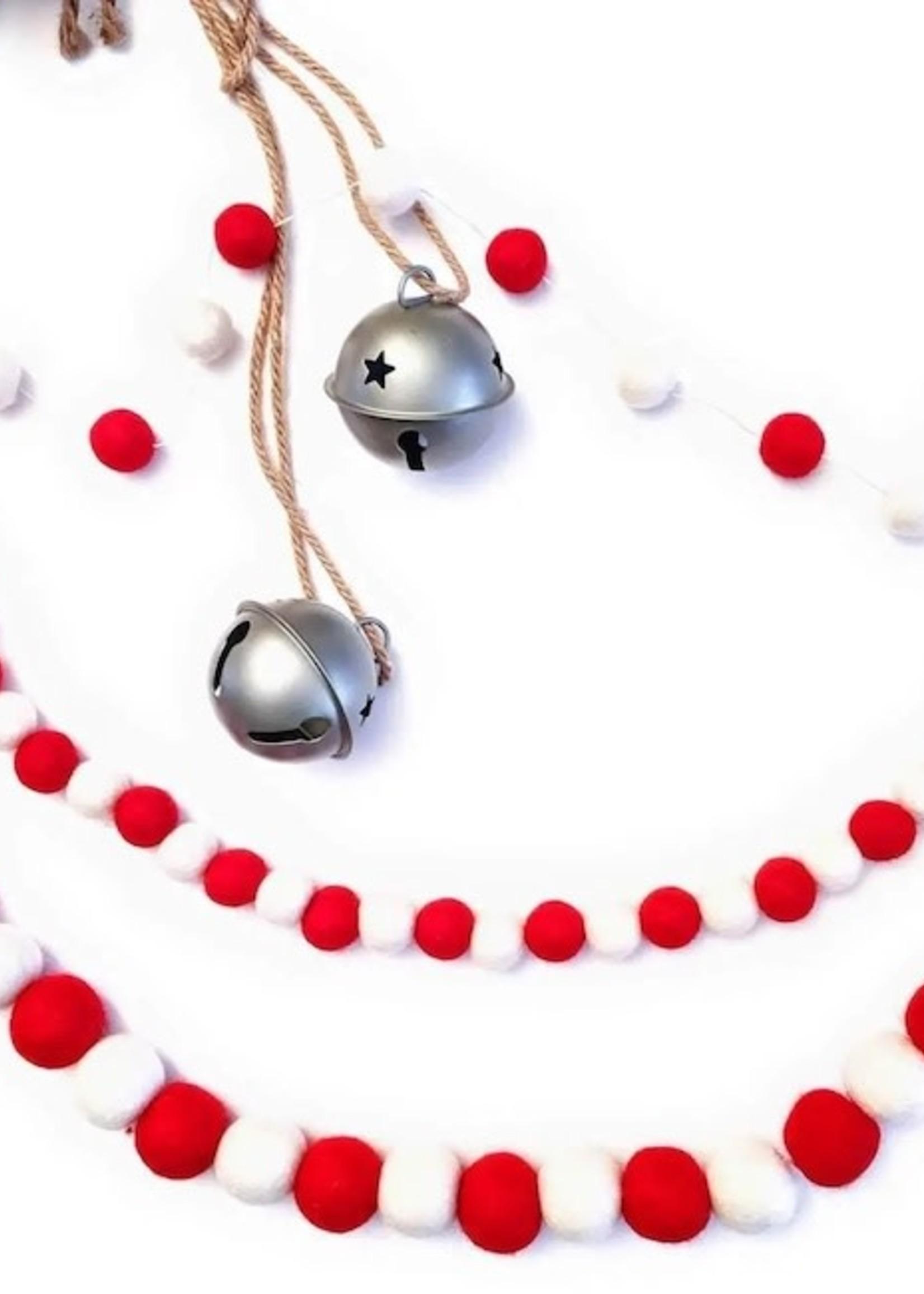 Friendsheep Eco Garland Red & White