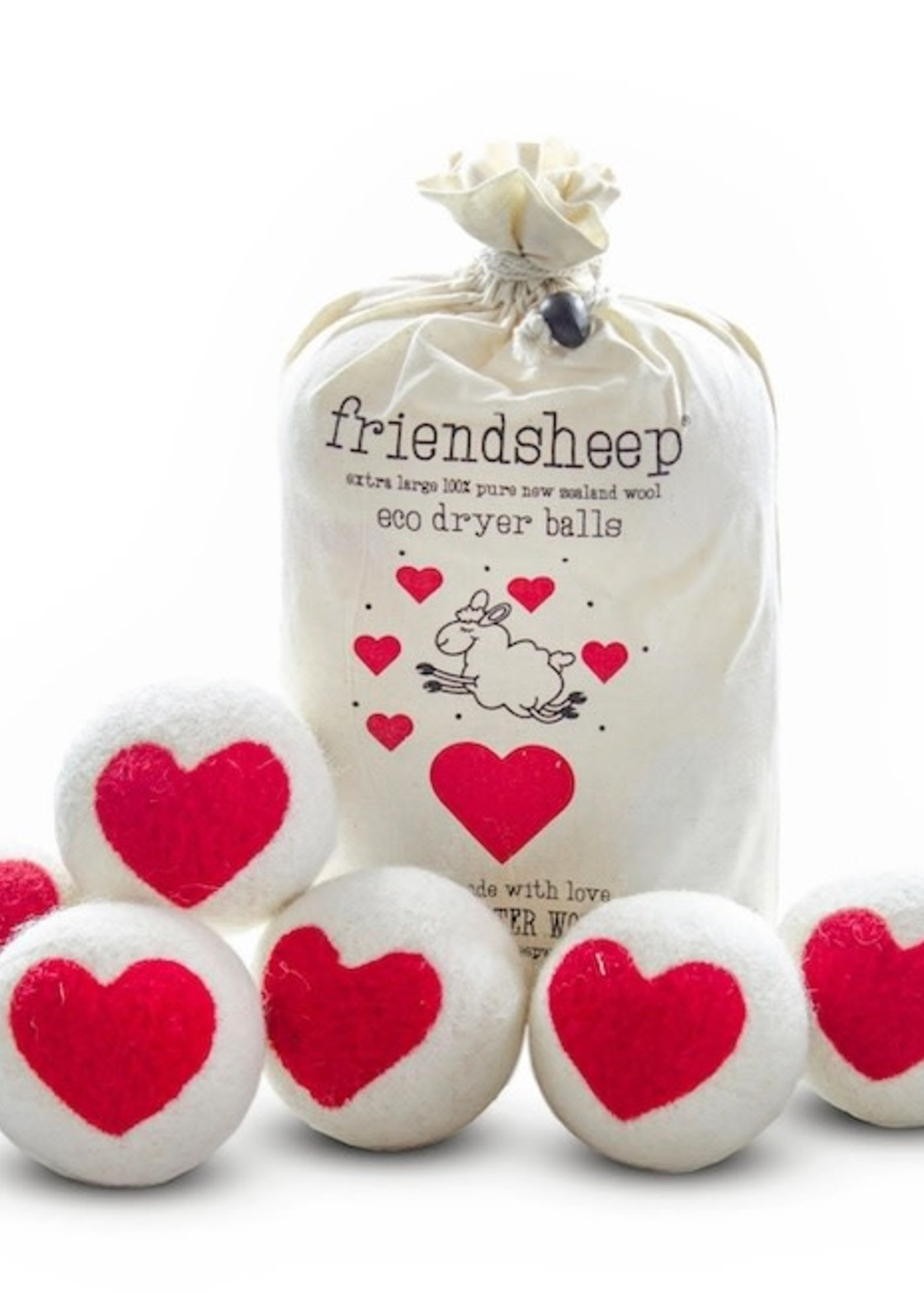 Friendsheep One Heart Dryer Balls