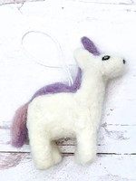 Friendsheep Purple Unicorn Ornament
