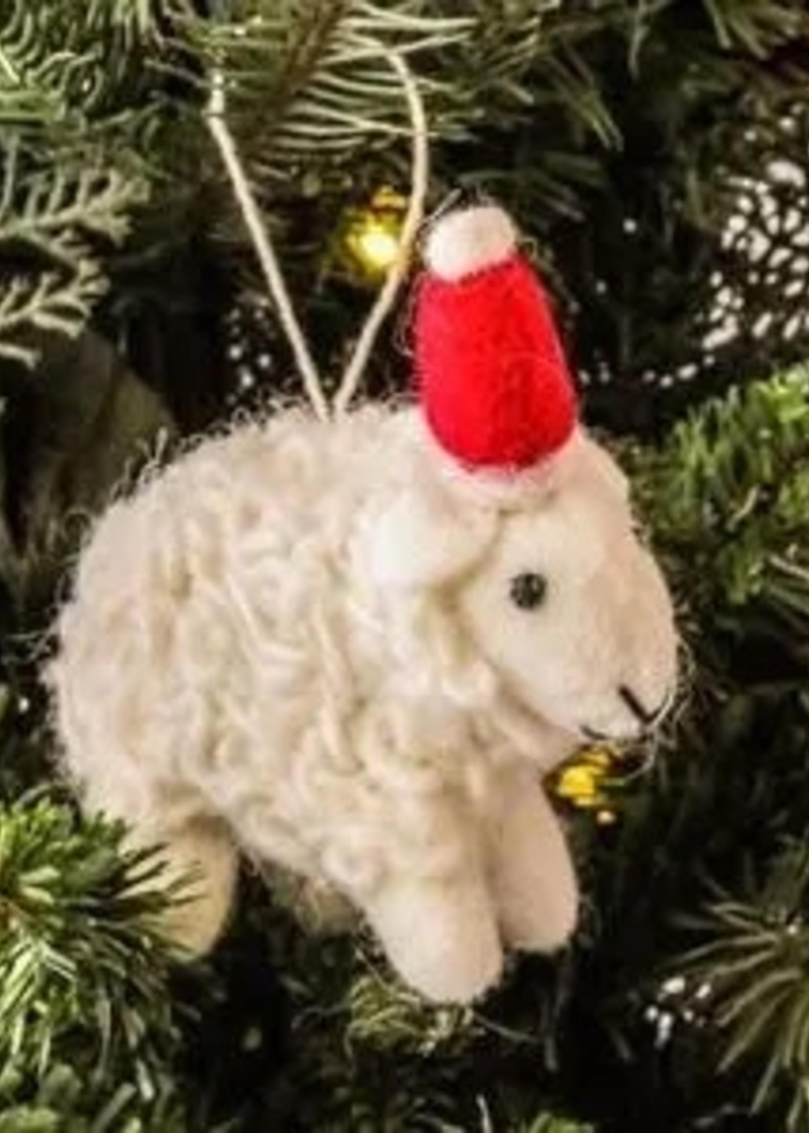 Friendsheep Santa's Sheep Ornament