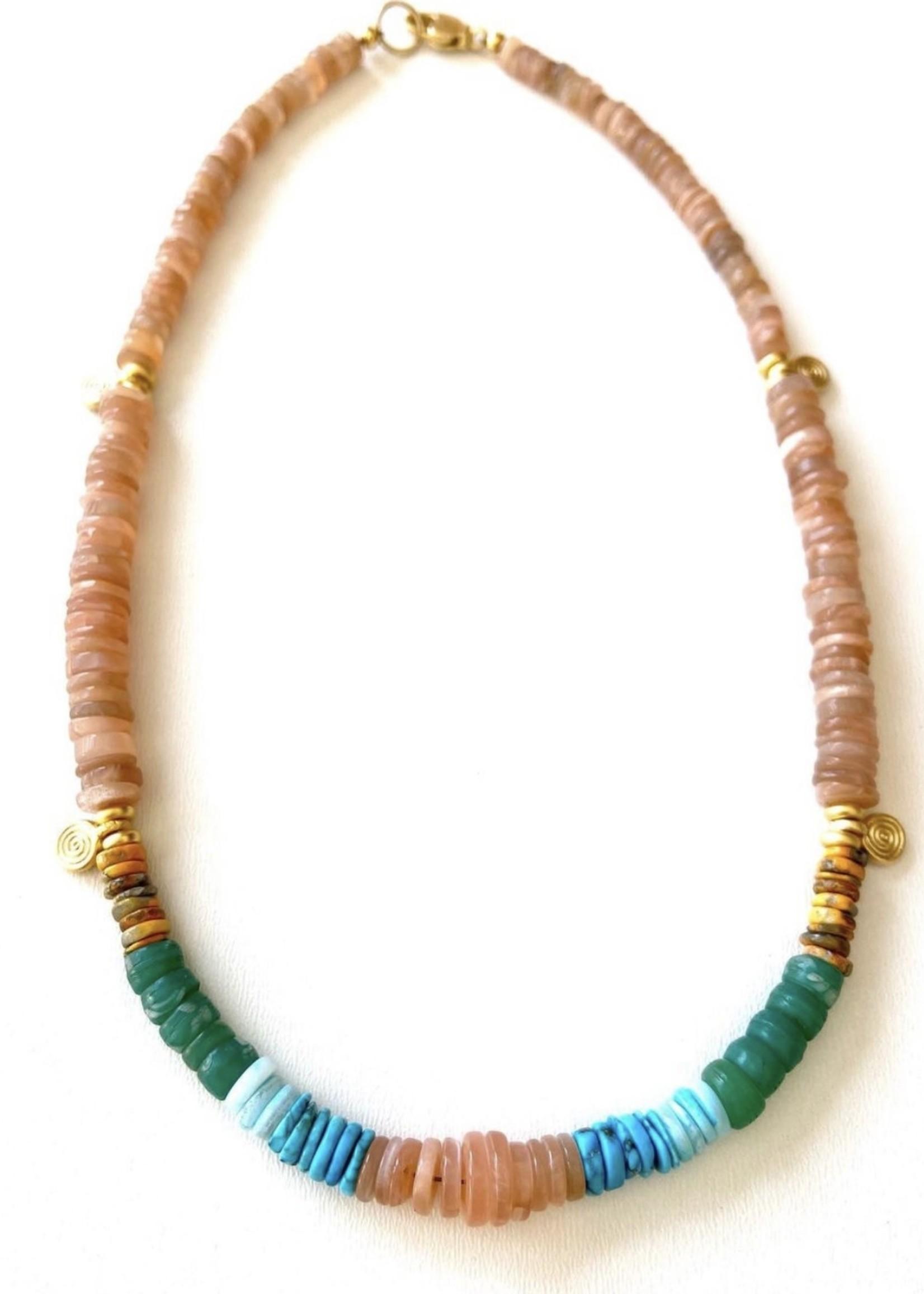 California summer necklace