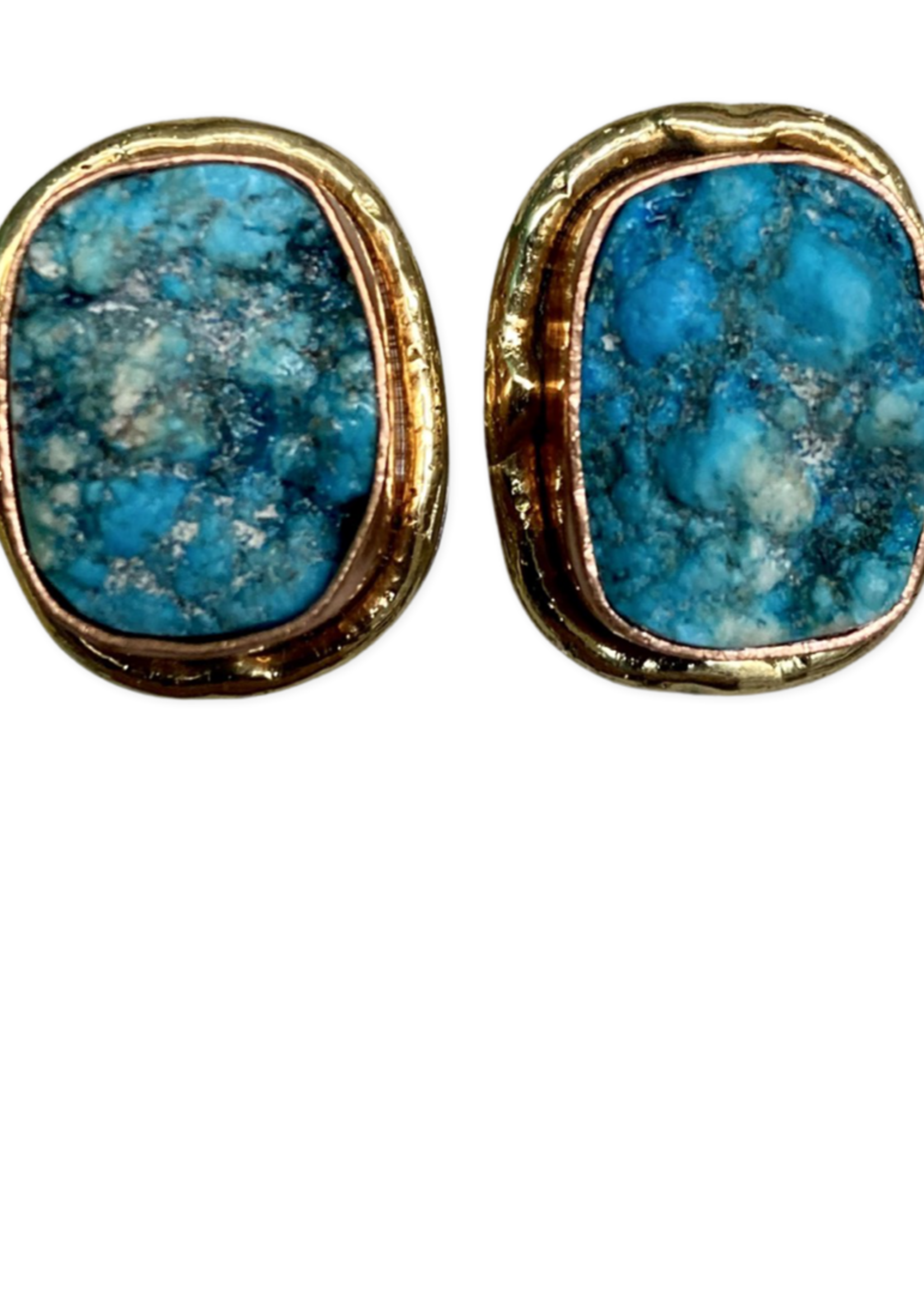 David Jeffery Earrings Turquoise Ruzy