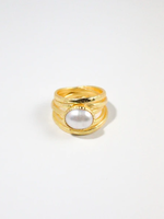 Joya Roseland Ring Freshwater Pearl