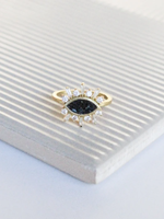 Joya Theodosia Ring Black Deco
