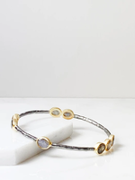 Joya Laila Bangle Bracelet Labradorite